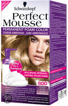 Perfect Mousse 800 Middenblond - Haarkleuring
