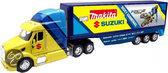 New ray Truck peterbilt 387 suzuki geel 1:32