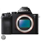 Sony Alpha 7 Body - Systeemcamera