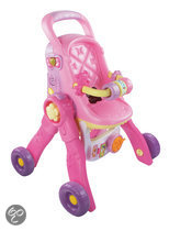 VTech Little Love 3 in 1 - Poppenwagen