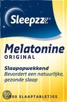 Sleepzz Melatonine Original 0,1 mg  - 500 Tabletten - Voedingssupplementen