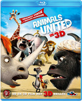 Animals United 3D (3D+2D Blu-ray)