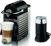 Krups Nespresso Apparaat Pixie & Aeroccino 3 - Electric Titan