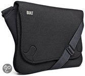 Built NY, Soho Laptop Messenger Bag 16 inch (Black)
