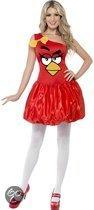 Rood Angry Birds jurkje dames 36-38 (s)
