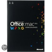 Microsoft Office Mac Home & Business 2011- Engels