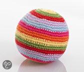Pebble rammelaar - Speelbal - Multi gestreept