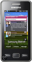 Samsung Star 2 (S5260) - Onyx black