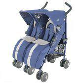 Maclaren Buggy Twin Techno Crown Blue