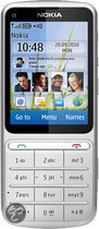 Nokia C3-01 Touch and Type - Zilver