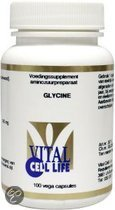 Vital Cell Life Glycine 500 mg Capsules 100 st