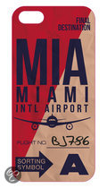 Benjamins Miami Intl Airport Hard Case, iPhone 5C Hard Case, Miami MIA