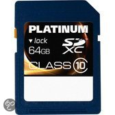 Platinum Secure Digital SDXC Card 64 GB