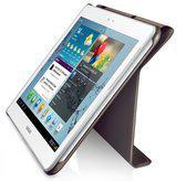 Book Cover voor de Samsung Galaxy Tab 2 10.1 (P5100) (dark grey) (EFC-1H8SGEC)