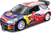 Bburago Citroen DS3 Total WRT # 1 S.Loeb