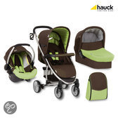 Hauck - Malibu All in One Kinderwagen - Coffee/Lime