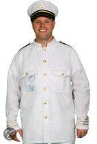 Marine Glitter - Kostuum - Maat XL / XXL - Wit