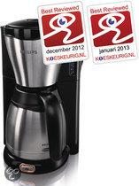 Philips Viva HD7546/20 - Koffiezetapparaat - Zilver/zwart