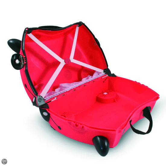 Trunki Ride-On - Lieveheersbeestje Harley - Kinderreiskoffer