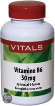 Vitals Vitamine B6 Pyridoxaal-5-Fosfaat 50mg