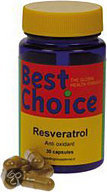Best choise Resveratrol /bc Ts