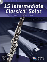 15 Intermediate Classical Solos (Clarinet)