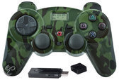 Bigben Wireless Quick Fire Controller Vibratie Camouflage PS3