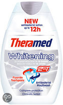 Theramed 2 in 1 Ultra White - 75 ml - Tandpasta