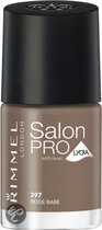 Rimmel Salon Pro With Lycra Nailpolish - 397 Beige Babe - Nailpolish