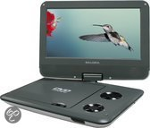 Salora DVP9018SW - Portable DVD-speler - 9 inch - Grijs/Wit