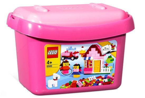 LEGO Basic Roze stenendoos - 5585