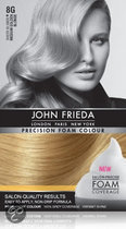 John Frieda Precision Foam Colour 8G Medium Golden Blonde - Haarkleuring