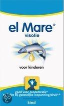 El Mare Visolie Voor Kinderen - 150 Kauwcapsules - Voedingssupplement