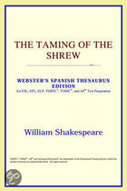 The Taming Of The Shrew (Webster's Spanish Thesaurus Edition)