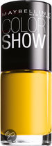 Maybelline Color Show - 749 Electric Yellow - Geel - Nagellak