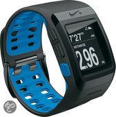 Nike+ GPS Sporthorloge zonder schoensensor - Antraciet/Blauw