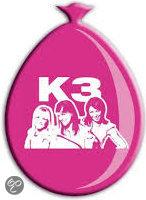 K3 Ballonnen 8 Stuks