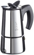 Bialetti Musa Induction - 4-kops - Zilver