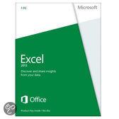 Microsoft Excel 2013 - Nederlands / 32-bit/64-bit / 1 Licentie