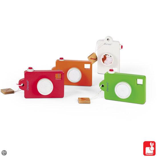 Janod I Wood pixel camera met geluid