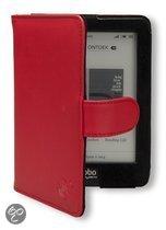 Gecko Covers Luxe Beschermhoes voor KOBO Glo Rood