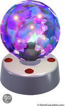 Party fun lights Discobal 10 Cm