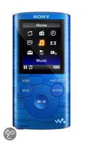 Sony NWZ-E384L - MP4 speler - 8 GB - Blauw