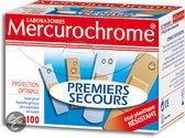 Mercurochrome Eerste Hulp - 100 stuks - Pleisters
