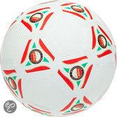 Feyenoord Straatbal - Rubber - Wit