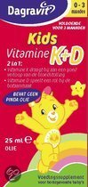 Dagravit  Kids Vitamine K+D - 25 ml - Druppels - Vitaminen