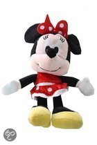 Disney Minnie mouse plush 20cm rode jurkje