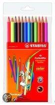 STABILO color kleurpotloden etui - 12 stuks