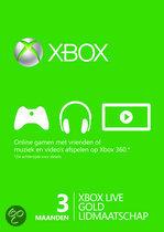 Foto van Microsoft Xbox Live Gold Abonnement 3 Maanden Xbox 360