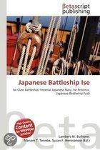 Japanese Battleship Ise